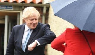 Boris Johnson in Hartlepool