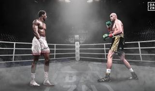Broadcaster DAZN USA mocked up an image of Anthony Joshua and Tyson Fury