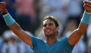 Rafael Nadal Dominic Thiem French Open final tennis