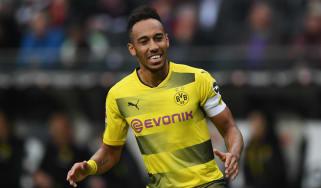 Borussia Dortmund and Ghana striker Pierre-Emerick Aubameyang