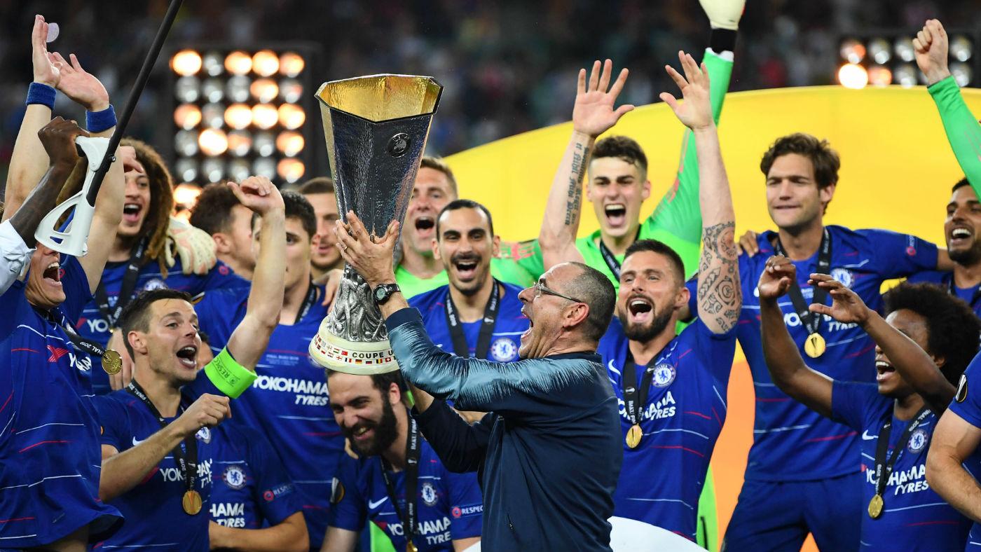 Hazard shines as Ozil wilts: Europa League final goals and ...