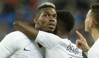Paul Pogba Ousmane Dembele France Russia racist abuse