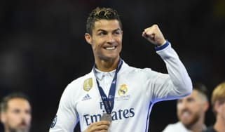 Cristiano Ronaldo wins the Champions League
