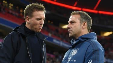 Julian Nagelsmann will replace Hansi Flick as Bayern head coach