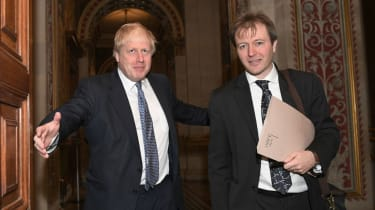 Boris Johnson meets Richard Ratcliffe, the husband of the detained British-Iranian woman Nazanin Zaghari-Ratcliffe