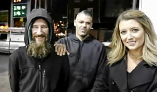 New Jersey couple and homeless man accused of £300,000 GoFundMe scam