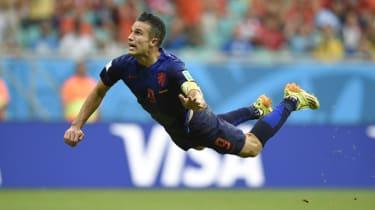 Robin van Persie, World Cup