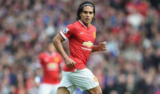 Radamel Falcao of Manchester United