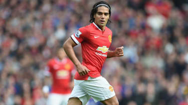 Radamel Falcao of Manchester United