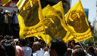 Marwan Barghouti Palestine Israel Hunger Strike