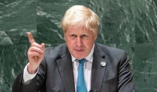 Boris Johnson speech at UN