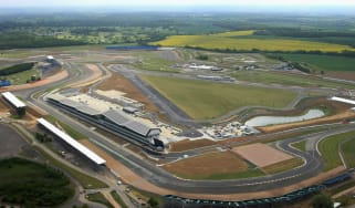 The F1 British Grand Prix was relocated permanently to Silverstone in 1987