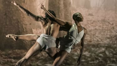 Carlos Luis Blanco and Zeleidy Crespo in Faun, as part of Evolution