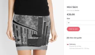 Auschwitz Skirt