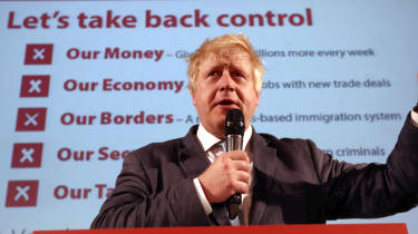 Boris Johnson Vote Leave