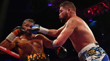 Bellew vs Haye boxing