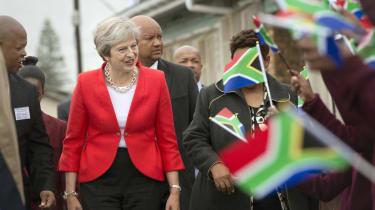Theresa May Africa