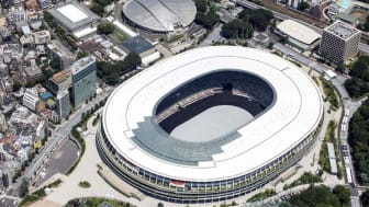 The Olympic Stadium is the main venue for Tokyo 2020
