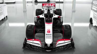 The Haas Formula 1 team have revealed digital renderings of the VF-20 car