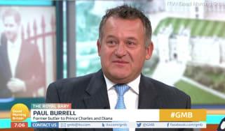 Paul Burrell on Good Morning Britain