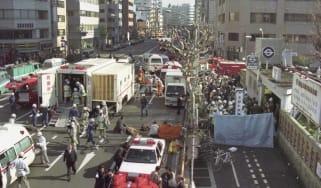 Tokyo subway attack