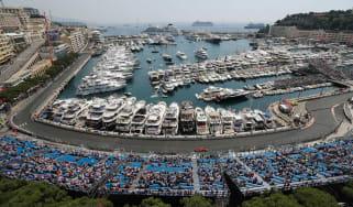 The Formula 1 Monaco Grand Prix takes place on the street circuit in Monte Carlo