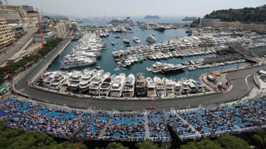 The Formula 1 Monaco Grand Prix takes place on the street circuit in Monte Carlo