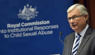 The chair of the Royal Commission, Justice Peter McClellan
