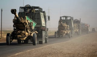 Iraqi government forces faced little resistance re-taking disputed oil fields