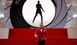 Daniel Craig at No Time To Die premiere