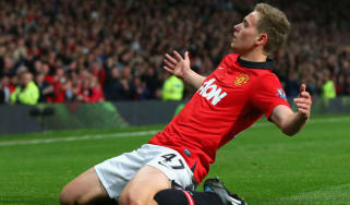 Manchester United's James Wilson
