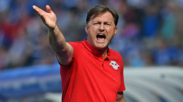 Ralph Hasenhuettl has replaced Mark Hughes as manager of Southampton