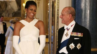 Prince Philip Michelle Obama