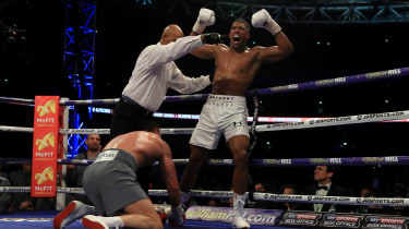 Anthony Joshua Wladimir Klitschko Wembley London