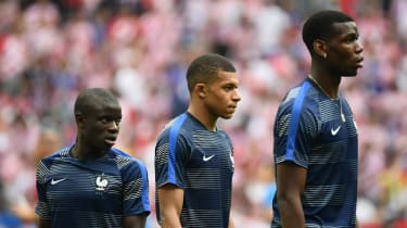 N'Golo Kante, Kylian Mbappe and Paul Pogba won the 2018 Fifa World Cup with France