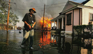 Hurricane Katrina Then
