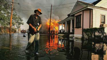 Hurricane Katrina Then