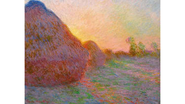Meules by Claude Monet
