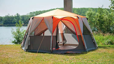 Coleman Tent Octagon - camping equipment checklist