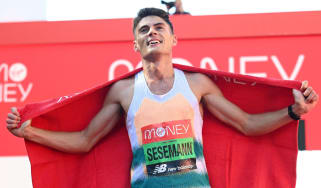 Junior doctor Phil Sesemann finished seventh on his marathon debut