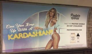 Khloe Kardashian Advert