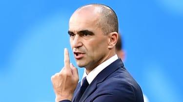Spaniard Roberto Martinez has been head coach of Belgium since August 2016