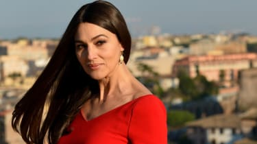 Italian actress Monica Bellucci