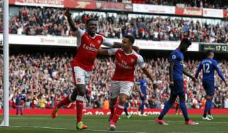Danny Welbeck Alexis Sanchez Arsenal