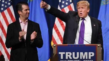 trump and son