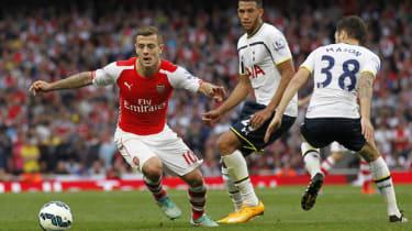 Arsenal's English midfielder Jack Wilshere