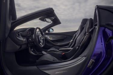McLaren 720S Spider and 600LT Spider Global Test Drive - Arizona - Jan-Feb 2019Copyright FreeRef:Interior.jpg