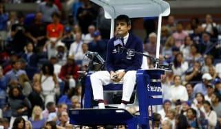 Carlos Ramos Serena Williams US Open final