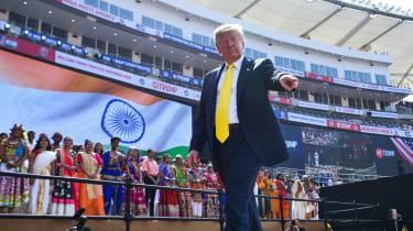 TrumpinIndia