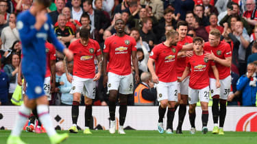 Manchester United scored four against Chelsea on the opening weekend
